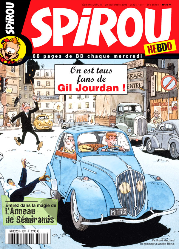 Spirou Hebdo N° 3571 du 20 septembre 2006