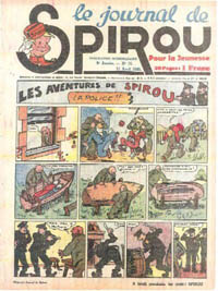 Le journal de Spirou N° 104 du 11 avril 1940