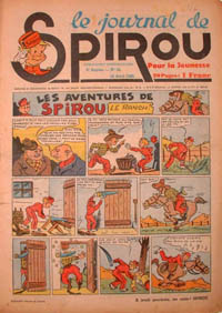 Le journal de Spirou N° 105 du 18 avril 1940
