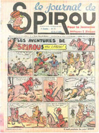 Le journal de Spirou N° 106 du 25 avril 1940