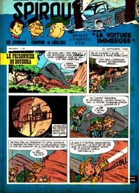Spirou N° 1067 du 25 septembre 1958