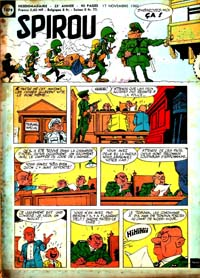 Spirou N° 1179 du 17 novembre 1960