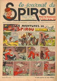 Le journal de Spirou N° 125 du 5 septembre 1940