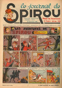 Le journal de Spirou N° 126 du 12 septembre 1940