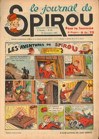 Le journal de Spirou N° 127 du 19 septembre 1940