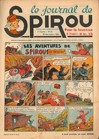 Le journal de Spirou N° 128 du 26 septembre 1940