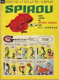 Spirou N° 1283 du 15 novembre 1962