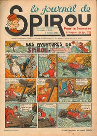 Le journal de Spirou N° 129 du 3 octobre 1940