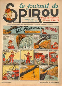Le journal de Spirou N° 130 du 10 octobre 1940