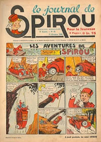 Le journal de Spirou N° 131 du 17 octobre 1940