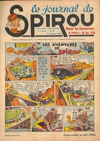 Le journal de Spirou N° 132 du 24 octobre 1940