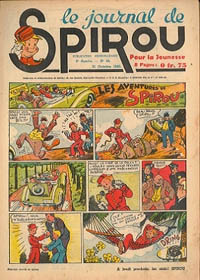 Le journal de Spirou N° 133 du 31 octobre 1940