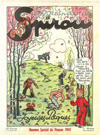Le journal de Spirou N° 156 du 10 avril 1941