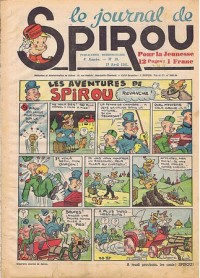 Le journal de Spirou N° 157 du 17 avril 1941
