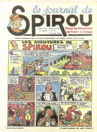 Le journal de Spirou N° 158 du 24 avril 1941