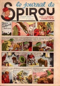 Le journal de Spirou N° 259 du 1 avril 1943