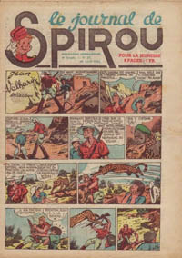 Le journal de Spirou N° 263 du 29 avril 1943