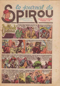 Le journal de Spirou N° 281 du 2 septembre 1943