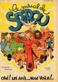 Le journal de Spirou N° 338 du 5 octobre 1944