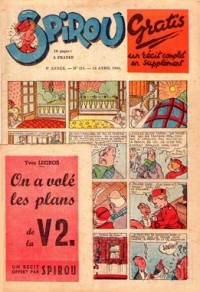 Le journal de Spirou N° 418 du 18 avril 1946