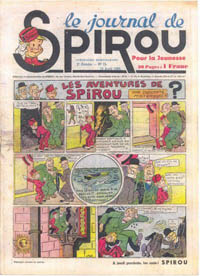 Le journal de Spirou N° 52 du 13 avril 1939