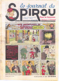 Le journal de Spirou N° 53 du 20 avril 1939