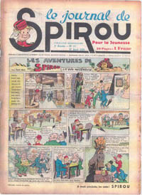 Le journal de Spirou N° 54 du 27 avril 1939