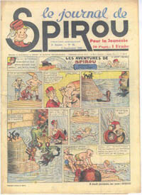 Le journal de Spirou N° 73 du 7 septembre 1939