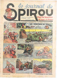 Le journal de Spirou N° 74 du 14 septembre 1939