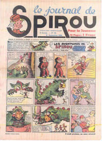 Le journal de Spirou N° 75 du 21 septembre 1939