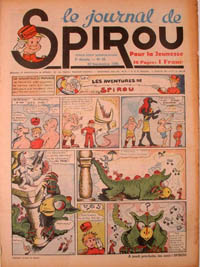Le journal de Spirou N° 76 du 28 septembre 1939