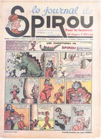Le journal de Spirou N° 77 du 5 octobre 1939