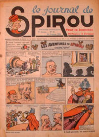 Le journal de Spirou N° 80 du 26 octobre 1939